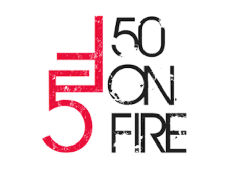 Recognized by Austin Inno as a 50 on Fire Winner